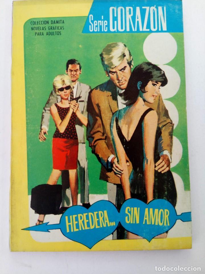 HEREDERA... SIN AMOR - SERIE CORAZÓN Nº 312 - EDITORIAL FERMA (Tebeos y Comics - Ferma - Otros)