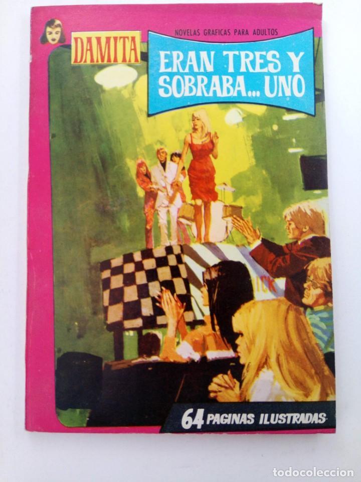 ERAN TRES Y SOBRABA... UNO - COLECCIÓN DAMITA Nº 428 - EDITORIAL FERMA (Tebeos y Comics - Ferma - Otros)