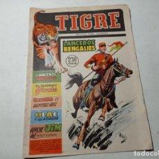 BDs: ORIGINAL NO COPIA TIGRE LANCEROS BENGALÍES EDICIONES FERMA NÚMERO 4 AÑO 1960. Lote 263937560