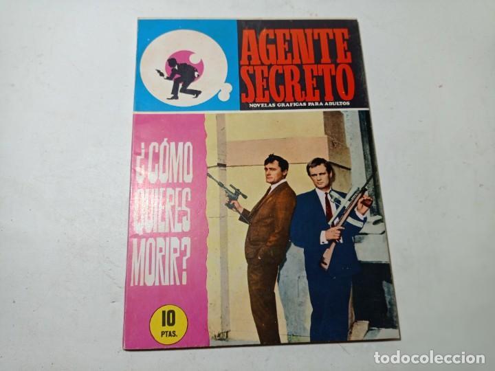 ORIGINAL NO COPIA AGENTE SECRETO EDITORIAL FERMA AÑO 1966 (Tebeos y Comics - Ferma - Agente Secreto)