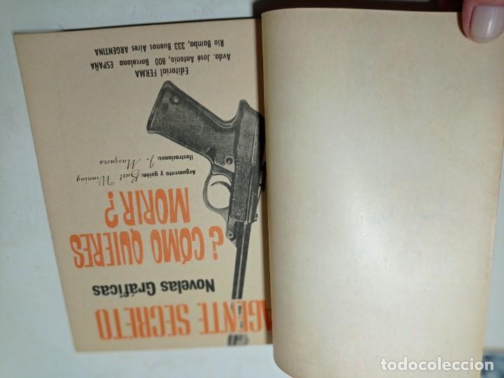 Tebeos: Original no copia agente secreto editorial ferma año 1966 - Foto 2 - 263938985