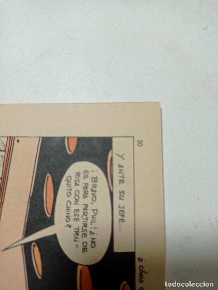 Tebeos: Original no copia agente secreto editorial ferma año 1966 - Foto 3 - 263938985