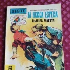 Tebeos: OESTE SENDAS SALVAJES Nº 88 LA HORCA ESPERA FERMA 1962 BUEN ESTADO. Lote 264100520