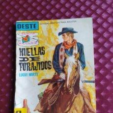 Tebeos: OESTE SENDAS SALVAJES Nº 64 HUELLAS DE FORAJIDOS FERMA 1962 BUEN ESTADO. Lote 264100990