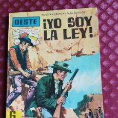 Tebeos: OESTE SENDAS SALVAJES Nº 103 YO SOY LA LEY FERMA 1962 MUY BUEN ESTADO. Lote 264101250