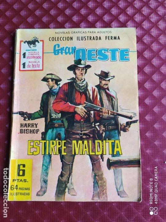 GRAN OESTE 176 ESTIRPE MALDITA FERMA 1962 BUEN ESTADO (Tebeos y Comics - Ferma - Gran Oeste)