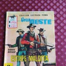 Tebeos: GRAN OESTE 176 ESTIRPE MALDITA FERMA 1962 BUEN ESTADO. Lote 264102060