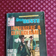 Tebeos: GRAN OESTE 207 APRENDERE A DEFENDERME FERMA 1962 BUEN ESTADO. Lote 264102305