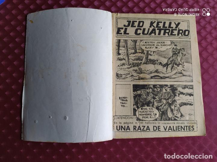 Tebeos: GRAN OESTE 188 JED KELLY EL CUATRERO FERMA 1962 BUEN ESTADO - Foto 2 - 264102605