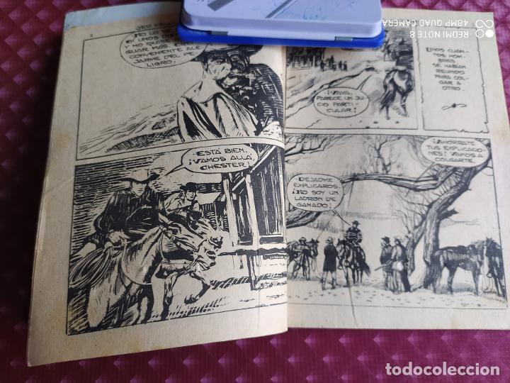 Tebeos: GRAN OESTE 188 JED KELLY EL CUATRERO FERMA 1962 BUEN ESTADO - Foto 3 - 264102605