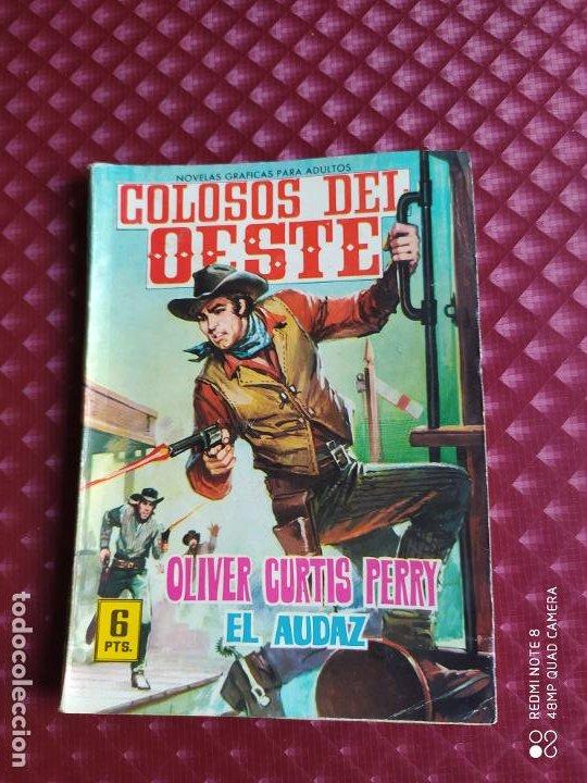 GRAN OESTE 21 OLIVER CURTIS PERRY EL AUDAZ FERMA 1964 BUEN ESTADO (Tebeos y Comics - Ferma - Colosos de Oeste)