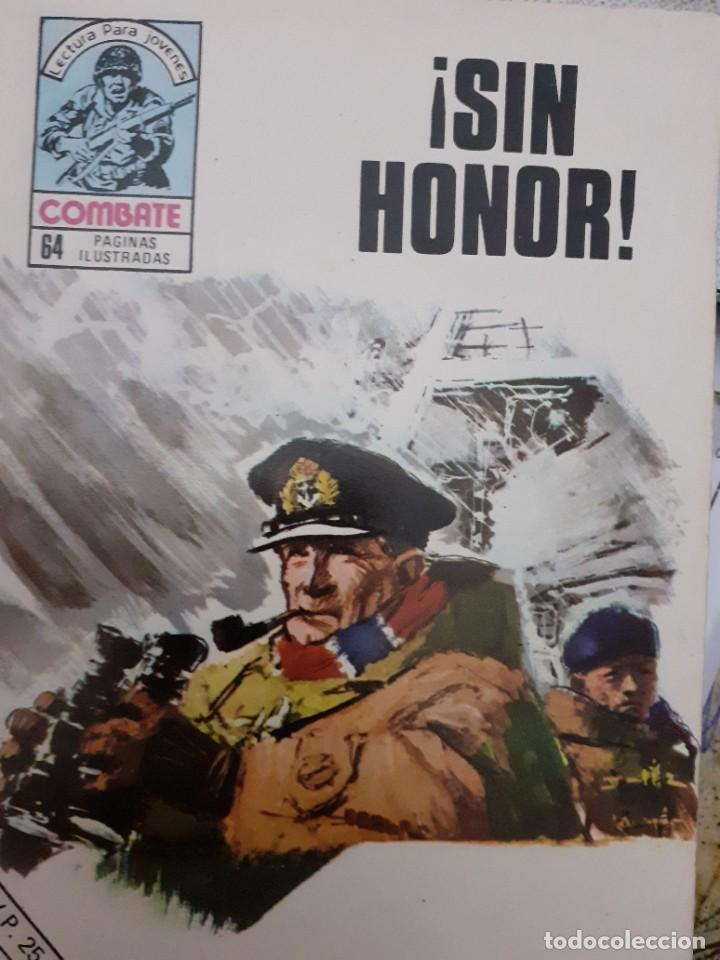 COMBATE-NOVELA GRÁFICA SEMANAL- Nº 205 -¡SIN HONOR!-1980-GRAN JOSÉ ORTIZ-ÚNICO EN TC-LEA-4778 (Tebeos y Comics - Ferma - Combate)