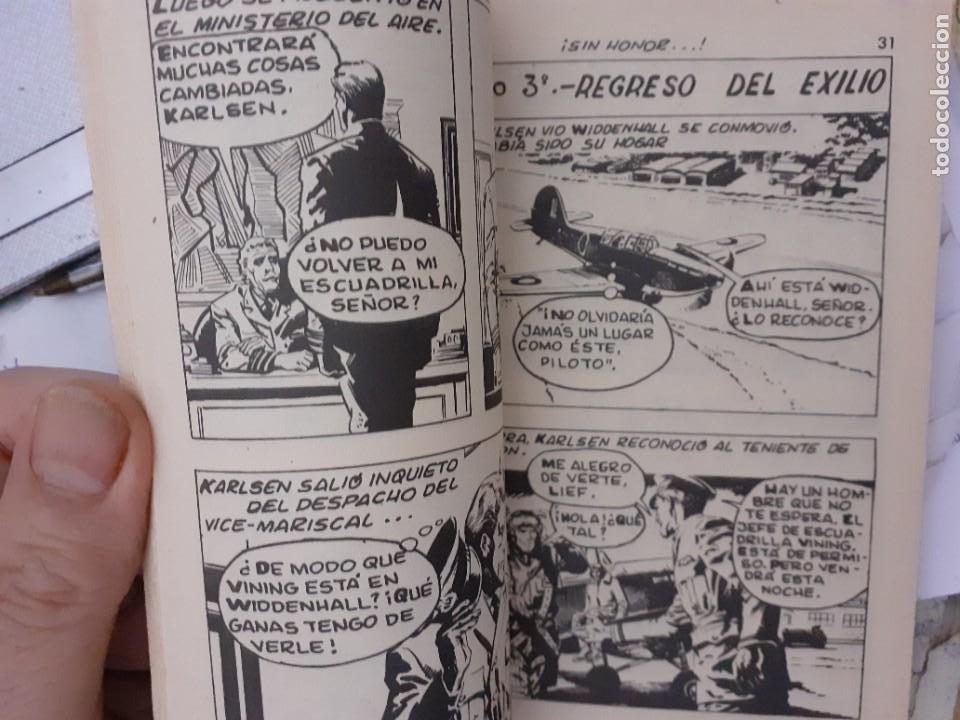 Tebeos: COMBATE-NOVELA GRÁFICA SEMANAL- Nº 205 -¡SIN HONOR!-1980-GRAN JOSÉ ORTIZ-ÚNICO EN TC-LEA-4778 - Foto 4 - 264329140