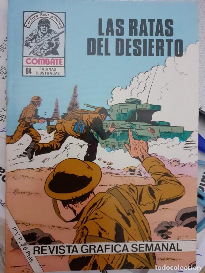 Tebeos: COMBATE-NOVELA GRÁFICA- Nº 241 -LAS RATAS DEL DESIERTO-1981-LUIS COLLADO-MUY DIFÍCIL-BUENO-LEA-4779 - Foto 2 - 264330348