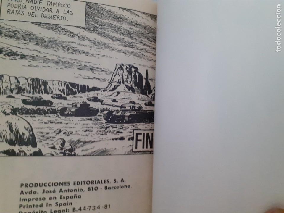 Tebeos: COMBATE-NOVELA GRÁFICA- Nº 241 -LAS RATAS DEL DESIERTO-1981-LUIS COLLADO-MUY DIFÍCIL-BUENO-LEA-4779 - Foto 5 - 264330348