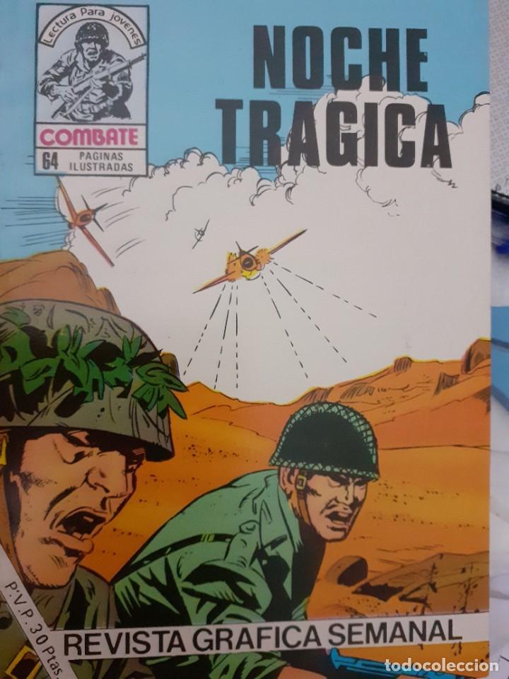 Tebeos: COMBATE-NOVELA GRÁFICA- Nº 242 -NOCHE TRÁGICA-1981-MUY DIFÍCIL-M. BUENO-LEAN POR FAVOR-4780 - Foto 2 - 264332028