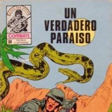Tebeos: COMBATE-NOVELA GRÁFICA- Nº 243 -UN VERDADERO PARAÍSO-1981-MUY DIFÍCIL-MUY BUENO-LEA- 4781. Lote 264332884
