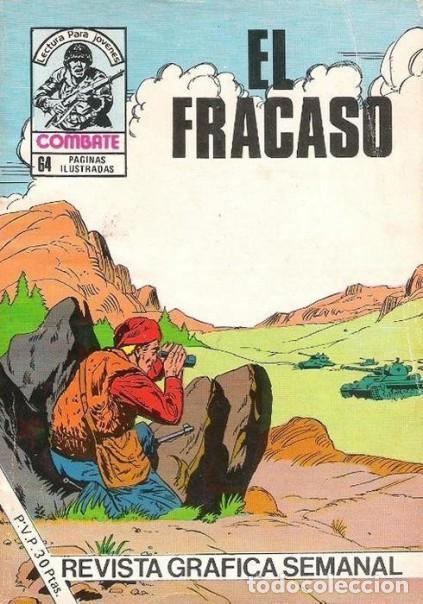 COMBATE-NOVELA GRÁFICA SEMANAL- Nº 248 -EL FRACASO-1981-GRAN LUIS RAMOS-BUENO-ESCASO-LEA-4782 (Tebeos y Comics - Ferma - Combate)