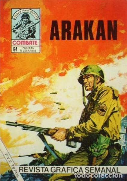 COMBATE-NOVELA GRÁFICA- Nº 250 -ARAKÁN-1981-JOSÉ TELLO-MUY DIFÍCIL-MUY BUENO-LEA-4783 (Tebeos y Comics - Ferma - Combate)