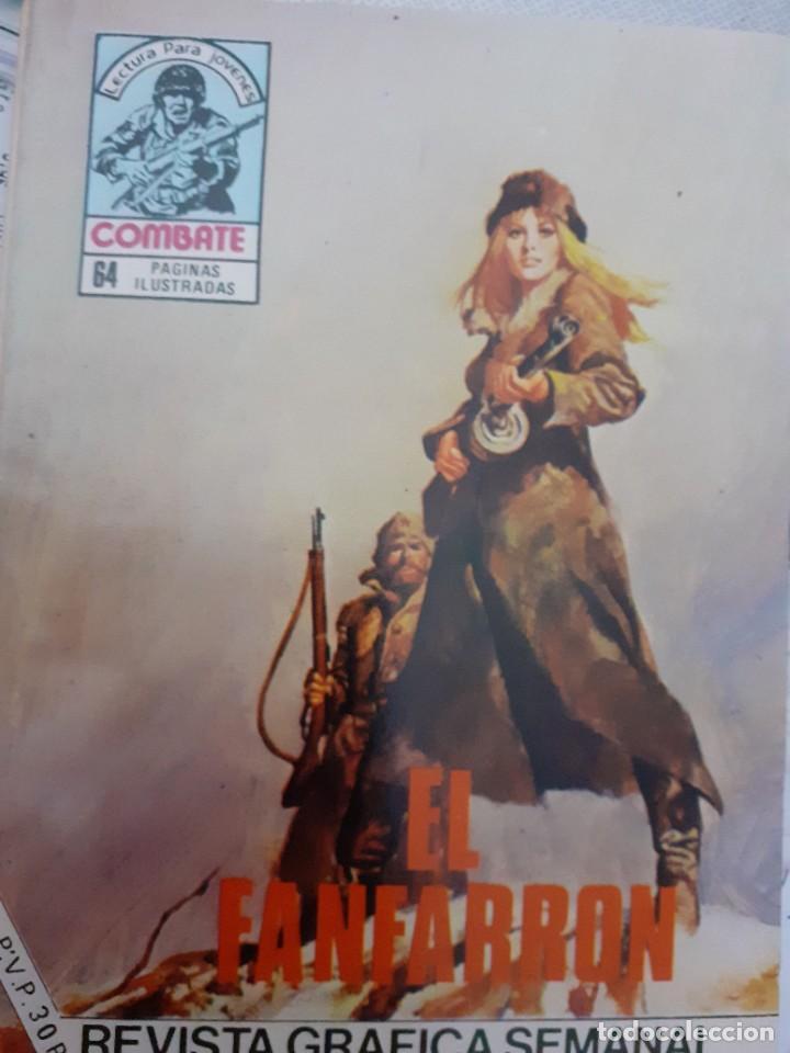 Tebeos: COMBATE-NOVELA GRÁFICA- Nº 255 -EL FANFARRÓN-1981-FÉLIX MOLINARI-EMOCIONANTE-DIFÍCIL-MBUENO-LEA-4784 - Foto 2 - 264338420