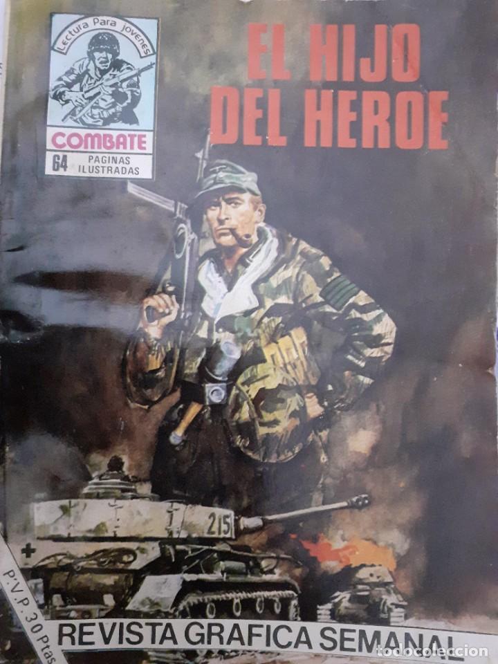 Tebeos: COMBATE-NOVELA GRÁFICA- Nº 256 -EL HIJO DEL HÉROE-1981-ARELI BEVIÀ-MUY DIFÍCIL-CASI BUENO-LEA-4785 - Foto 2 - 264355909