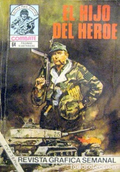 COMBATE-NOVELA GRÁFICA- Nº 256 -EL HIJO DEL HÉROE-1981-ARELI BEVIÀ-MUY DIFÍCIL-CASI BUENO-LEA-4785 (Tebeos y Comics - Ferma - Combate)