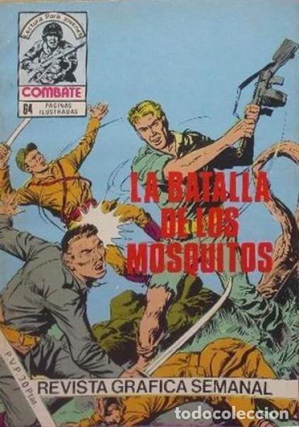 COMBATE-NOVELA GRÁFICA SEMANAL- Nº 264 -ÚLT..COLEC.-LA BATALLA DE LOS MOSQUITOS-1981-DIFÍCIL-4788 (Tebeos y Comics - Ferma - Combate)