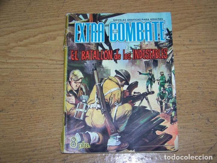 EXTRA COMBATE FERMA 63 EL BATALLON DE LOS INDESEABLES (Tebeos y Comics - Ferma - Combate)