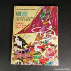 Tebeos: COLECCIÓN IMÁGENES Y AVENTURAS ARTURO EL FANTASMA JUSTICIERO PIRATAS DE LA MAR SALADA FERMA 1965. Lote 266048093