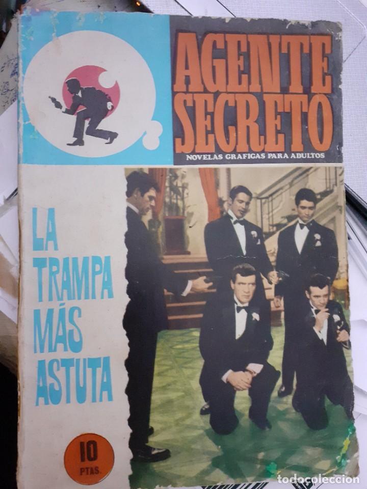 Tebeos: AGENTE SECRETO-FERMA- Nº 31 -LA TRAMPA MÁS ASTUTA-1966-JORDI BADESA-CASI BUENO-ÚNICO EN TC-LEA-4952 - Foto 2 - 266589393