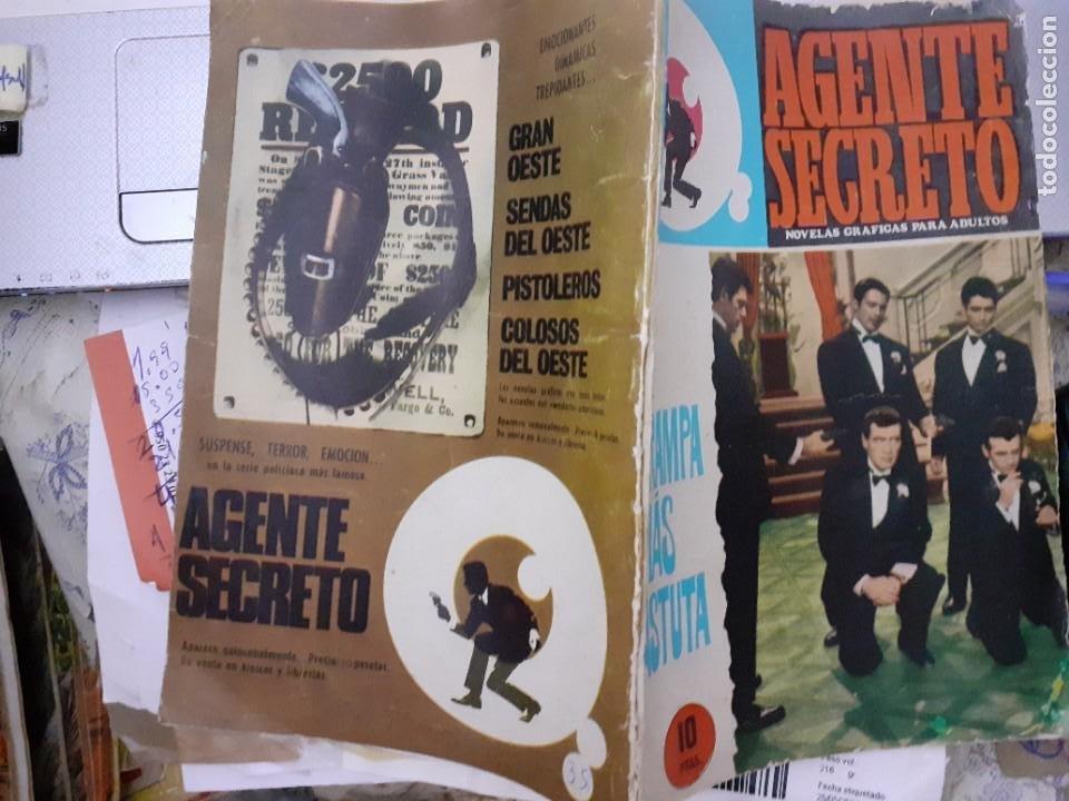Tebeos: AGENTE SECRETO-FERMA- Nº 31 -LA TRAMPA MÁS ASTUTA-1966-JORDI BADESA-CASI BUENO-ÚNICO EN TC-LEA-4952 - Foto 3 - 266589393