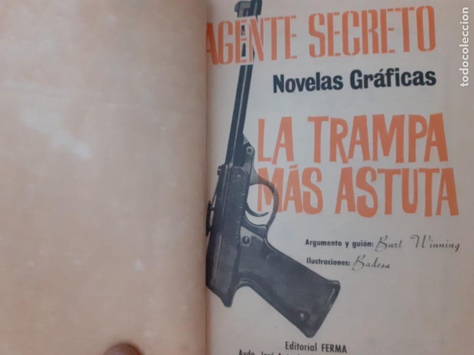 Tebeos: AGENTE SECRETO-FERMA- Nº 31 -LA TRAMPA MÁS ASTUTA-1966-JORDI BADESA-CASI BUENO-ÚNICO EN TC-LEA-4952 - Foto 4 - 266589393