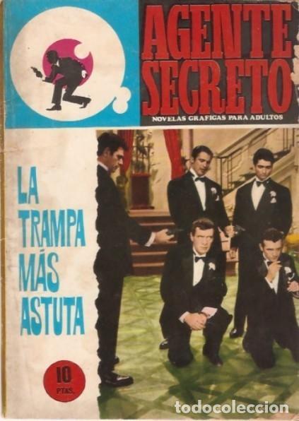 AGENTE SECRETO-FERMA- Nº 31 -LA TRAMPA MÁS ASTUTA-1966-JORDI BADESA-CASI BUENO-ÚNICO EN TC-LEA-4952 (Tebeos y Comics - Ferma - Agente Secreto)
