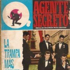 Tebeos: AGENTE SECRETO-FERMA- Nº 31 -LA TRAMPA MÁS ASTUTA-1966-JORDI BADESA-CASI BUENO-ÚNICO EN TC-LEA-4952. Lote 266589393