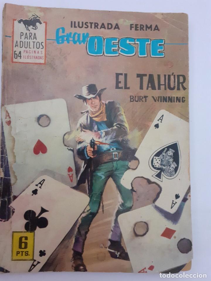 Tebeos: GRAN OESTE-FERMA- Nº 260 -EL TAHÚR-GRAN FELIPE BARNÈS-1963-ÚNICO EN TC-BUENO-LEA-5001 - Foto 2 - 267909659