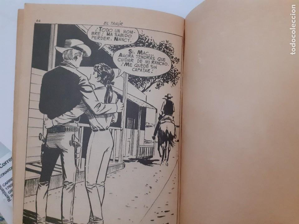 Tebeos: GRAN OESTE-FERMA- Nº 260 -EL TAHÚR-GRAN FELIPE BARNÈS-1963-ÚNICO EN TC-BUENO-LEA-5001 - Foto 6 - 267909659