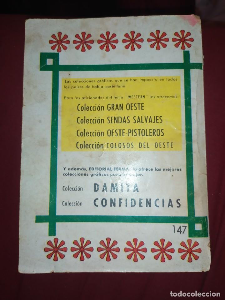 Tebeos: OESTE Nº 147 ELIMINAD A ESE TESTIGO PISTOLEROS EL FALSO DOCTOR NOVELA GRÁFICA EDITORIAL FERMA 1963 - Foto 4 - 268419084