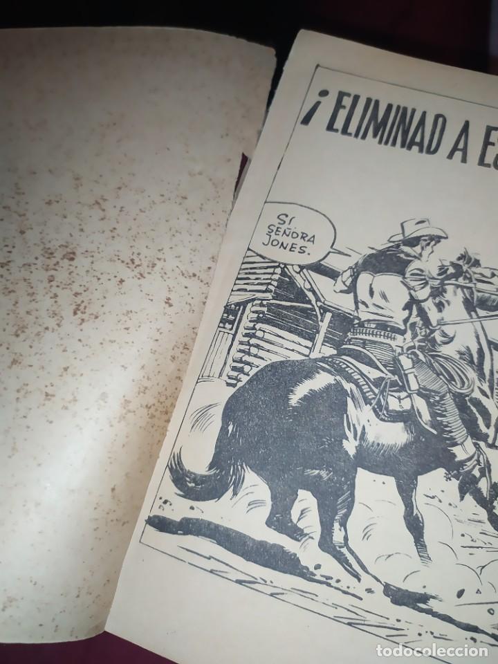 Tebeos: OESTE Nº 147 ELIMINAD A ESE TESTIGO PISTOLEROS EL FALSO DOCTOR NOVELA GRÁFICA EDITORIAL FERMA 1963 - Foto 9 - 268419084