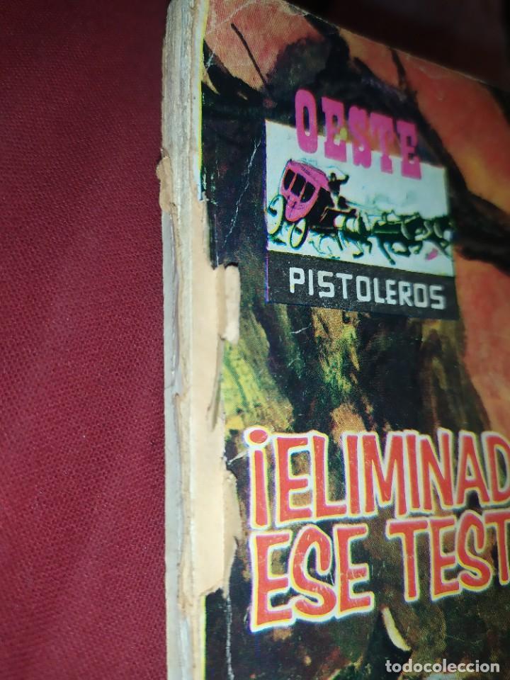 Tebeos: OESTE Nº 147 ELIMINAD A ESE TESTIGO PISTOLEROS EL FALSO DOCTOR NOVELA GRÁFICA EDITORIAL FERMA 1963 - Foto 11 - 268419084