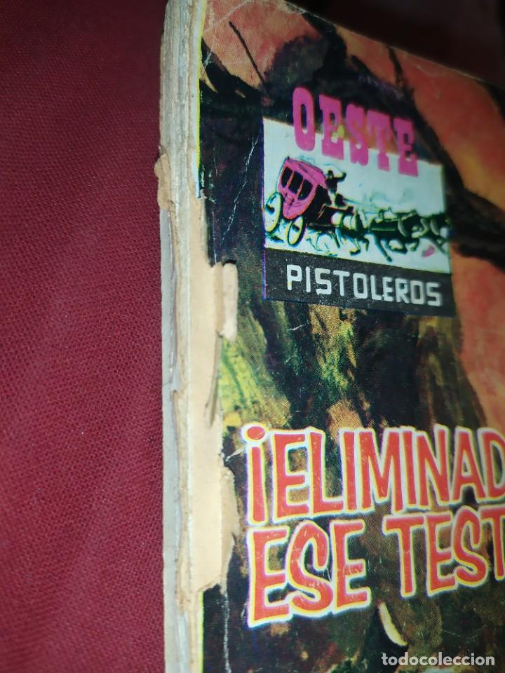 Tebeos: OESTE Nº 147 ELIMINAD A ESE TESTIGO PISTOLEROS EL FALSO DOCTOR NOVELA GRÁFICA EDITORIAL FERMA 1963 - Foto 16 - 268419084