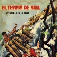 Tebeos: AVENTURAS EN LA SELVA-EUREDIT- Nº 2 -EL TEMPLO DE SIVA-1966-L.GUTIÉRREZ-ÚNICO EN TC-BUENO-LEA-5022. Lote 269234858