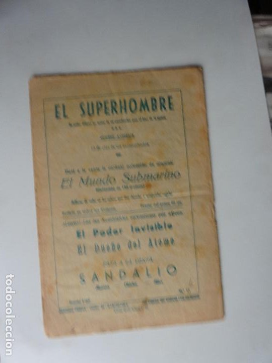 Tebeos: SUPERHOMBRE Nº 13 FERMA ORIGINAL - Foto 2 - 269943618