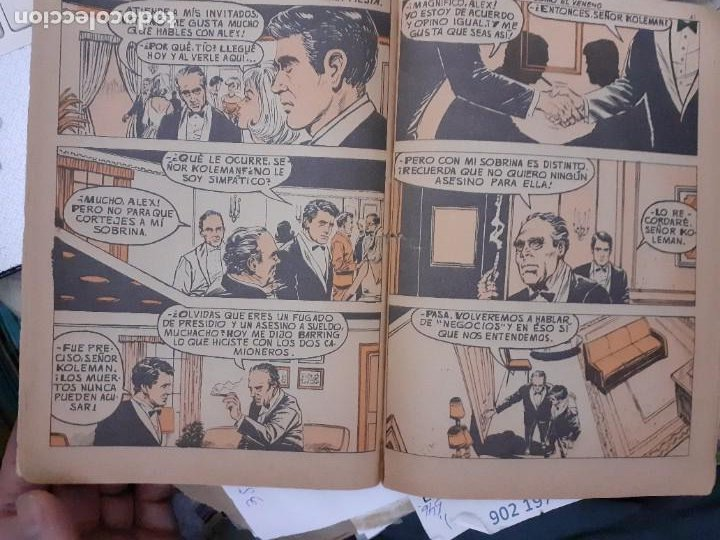 Tebeos: AGENTE SECRETO- Nº 36 -MORTAL COMO EL VENENO-1966-CASI BUENO-GRAN XAVIER MUSQUERA-DIFÍCIL-LEAN-5041 - Foto 6 - 269967373