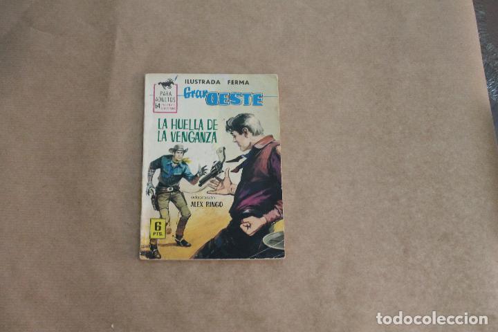 GRAN OESTE Nº 274, NOVELA GRÁFICA, EDITORIAL FERMA (Tebeos y Comics - Ferma - Gran Oeste)