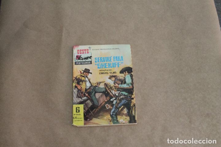 OESTE PISTOLEROS Nº 35, NOVELA GRÁFICA, EDITORIAL FERMA (Tebeos y Comics - Ferma - Gran Oeste)