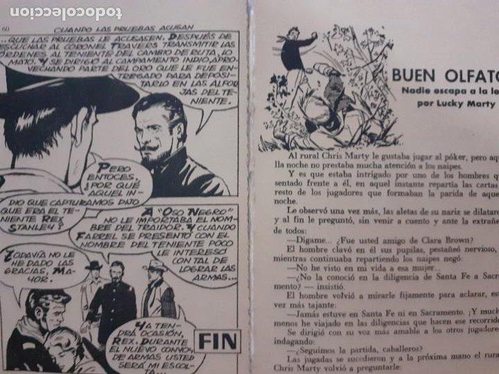 Tebeos: GRAN OESTE-FERMA- Nº 177 -CUANDO LAS PRUEBAS ACUSAN-GRAN JORGE BADIA-1961-DIFÍCIL-BUENO-LEA-5048 - Foto 4 - 271410783