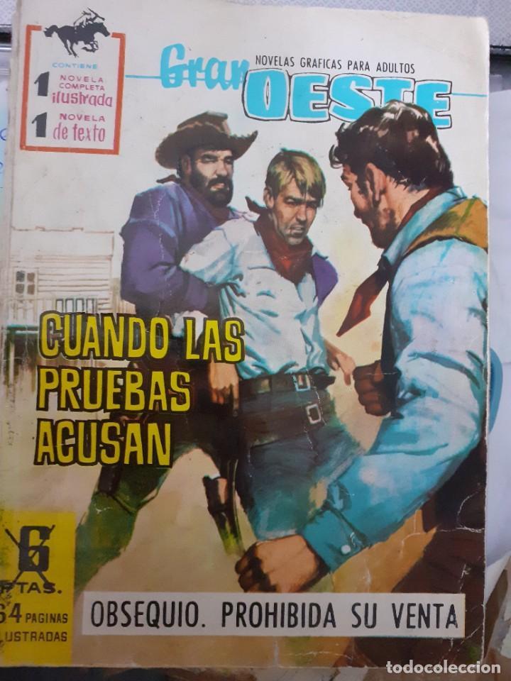 GRAN OESTE-FERMA- Nº 177 -CUANDO LAS PRUEBAS ACUSAN-GRAN JORGE BADIA-1961-DIFÍCIL-BUENO-LEA-5048 (Tebeos y Comics - Ferma - Gran Oeste)