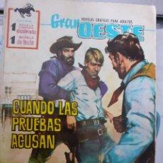 Tebeos: GRAN OESTE-FERMA- Nº 177 -CUANDO LAS PRUEBAS ACUSAN-GRAN JORGE BADIA-1961-DIFÍCIL-BUENO-LEA-5048. Lote 271410783