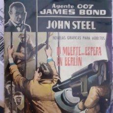 Tebeos: AGENTE 007 JAMES BOND- Nº 15 -LA MUERTE...ESPERA EN BERLÍN-1966-JULIO MONTAÑÉS-BUENO-DIFÍCIL-5049. Lote 271416388