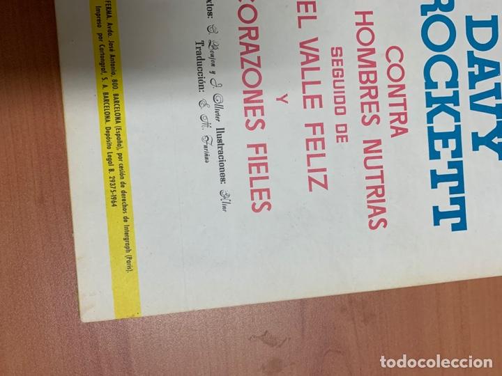 Tebeos: DAVID CROCKETT. EL HÉROE DE LA FRONTERA. EDITORIAL FERMA BARCELONA 1964. - Foto 11 - 272433223